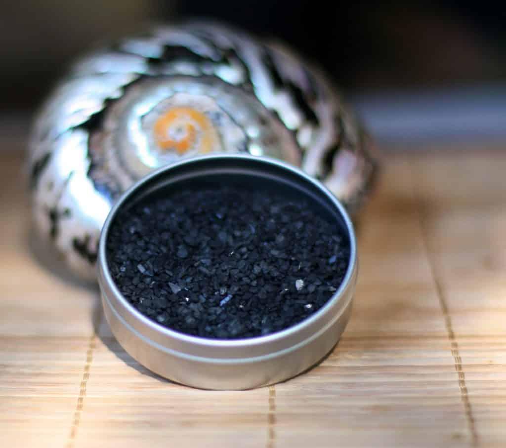 Hiwa Kai Black Lava Salt